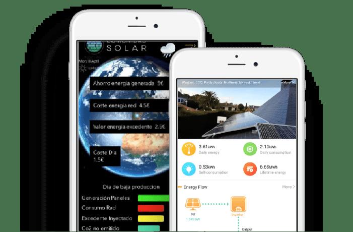 plataforma app monitorizar consumo electrico
